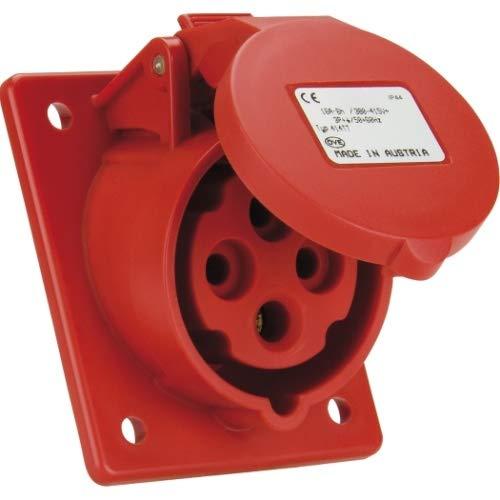 SIROX® CEE-Anbaudose IP 44, 4-polig, 400 V, 6 h, schräg Stromstärke 16 A
