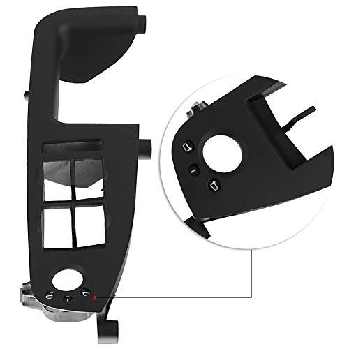 Ftory Panel de interruptores de Ventana - Ajuste del Panel de interruptores de ventanilla del automóvil para A4 B6 B7 RS4 2001-2008 8E1867171B Negro