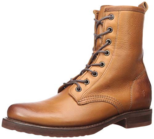 FRYE Women's Veronica Combat Boot, Whiskey, 7   M M US