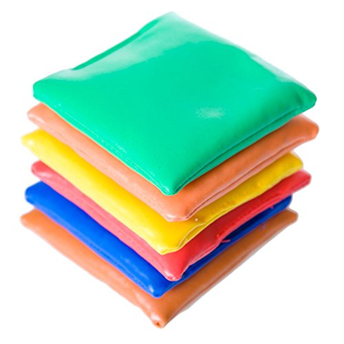 """US Toy - Dozen Assorted 3.5"""" Bean Bags for Games"""