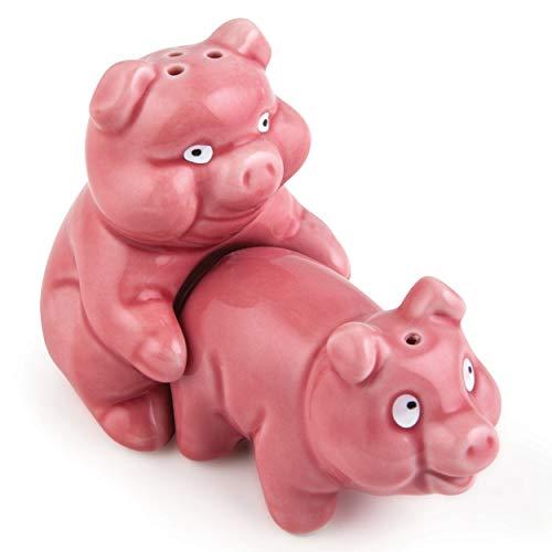 Naughty Pigs Salt and Pepper Shaker Set