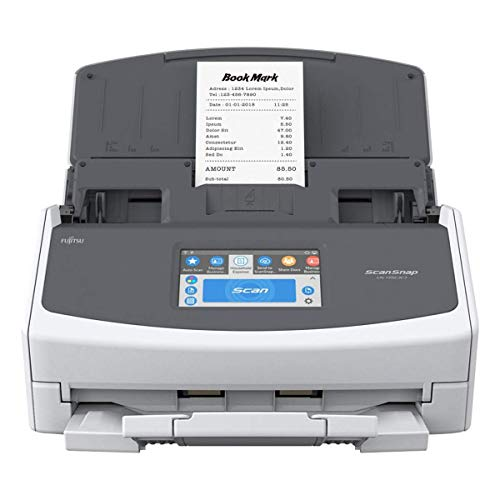 Fujitsu ScanSnap iX1500 Deluxe with Adobe Acrobat DC Pro for Mac & PC (White)