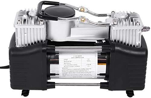 Der tragbare Luftkompressorzylinder elektrische Luftpumpe Reifen, mit vier Düsenadapter für Autos, Motorräder,...