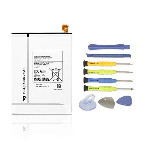 K KYUER 15.4Wh 4000mAh EB-BT710ABE EB-BT710ABA Tablet Batteria per Samsung Galaxy Tab S2 8.0  Wifi LTE-A T710 T715 T719 3G T719N SM-T710 SM-T713 SM-T715 SM-T715C SM-T719 Battery with Installation tool