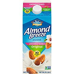 Almond Breeze Blue Diamond, Almond milk, Original, 64 Oz