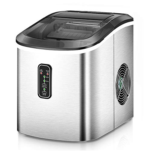 Euhomy Ice Maker Machine Countertop, Makes 26 lbs Ice...