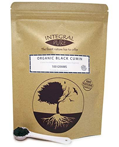 Bio Schwarzkümmel Pulver   50g-85g   Bio-zertifiziert   Black cumin seeds   Nigella sativa (85)