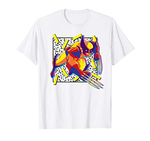 Marvel X-Men Wolverine 90s T-Shirt