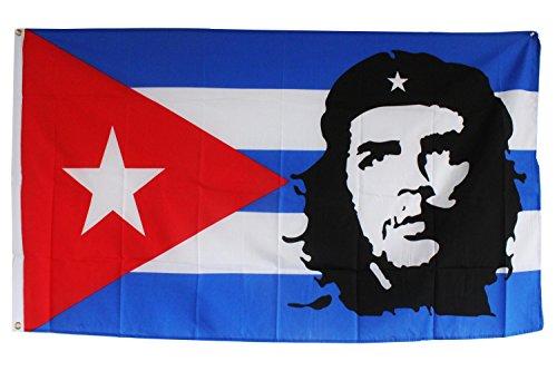 Creation Gross Fahne Flagge Che Guevara 0,90m x 1,50m mit Metallösen zum Aufhängen (0140492)
