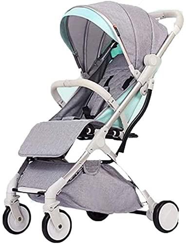 Cochecito de bebé para recién nacido, cochecito de bebé 3 en 1, cochecito de bebé de alto paisaje y cochecito reversible, cochecito plegable con toldo ajustable, cochecito de bebé reclinable portátil