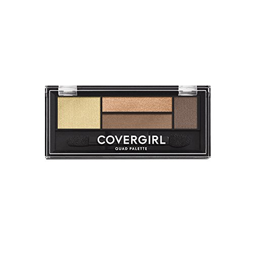 COVERGIRL Eye Shadow Quads Go For The Golds 705, .06 oz (packaging may vary)