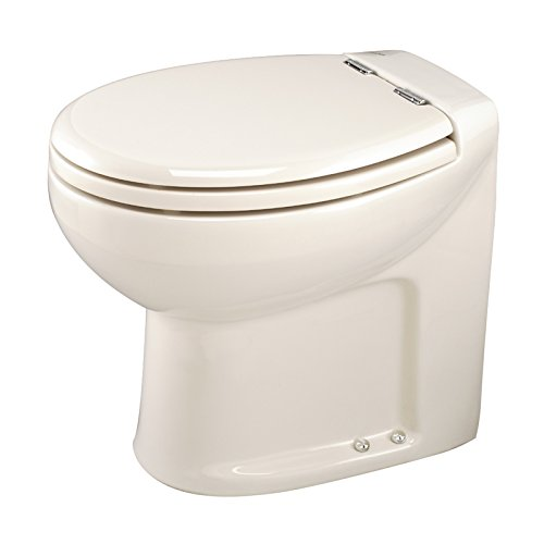 Thetford Tecma Silence Plus 38047 WC-Garnitur mit Wasserpumpe, 1 Modus, 12 V, mit Knochen