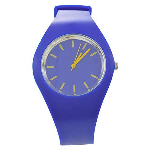 RainBabee Uhren Armbanduhr Studentenuhr Digitale Sportuhr Digital Zeiger Silikonuhr 24cm 1 Stück