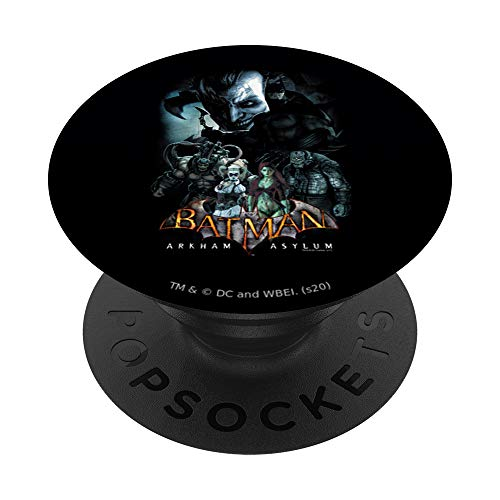 Batman: Arkham Asylum Five Against One PopSockets PopGrip Intercambiabile