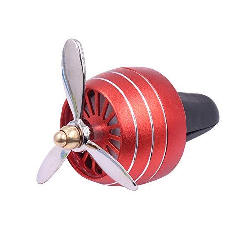 Ambientador Olor a carro LED Mini Salida de aire acondicionado Pinza de perfume Aromaterapia fresca Fragancia Aleación Buenos accesorios de auto