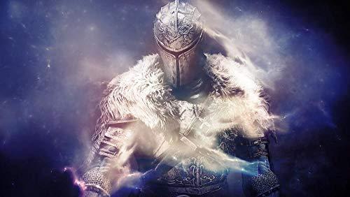 YUBYUB Rompecabezas para Adultos De Madera 1000 Piezas Muy Desafiante Rompecabezas Dark Souls II/75 * 50 CM