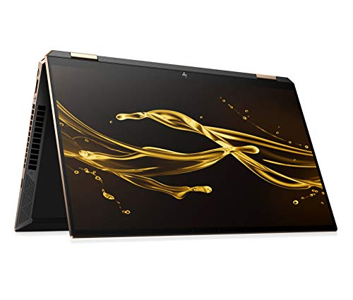 HP Spectre x360 15-eb0024ng (15,6 Zoll / UHD IPS Touch) Convertible Laptop (Intel Core i7-10750H, 16GB RAM, 512GB SSD, 32GB 3D XPOINT, Nvidia GTX 1650Ti 4GB, Fingerprintsensor, Win 10) + HP Active Pen