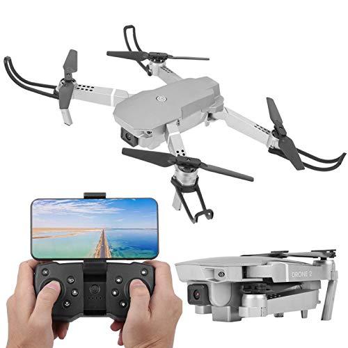 Mothinessto Drone Pieghevole, Drone per Fotografia Aerea con Fotocamera 4K WiFi Connect Impostazione Automatica dell'altezza per riprese all'aperto per Fai da Te
