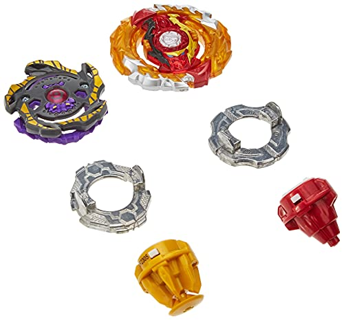 Hasbro Beyblade Burst Surge Speedstorm World Spryzen S6 und Betromoth B6 Kreisel Doppelpack – Battle Kreisel Spielzeug