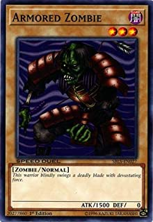 Yu-Gi-Oh! - Armored Zombie - SBLS-EN027 - Common - 1st Edition - Speed Duel Decks - Arena of Lost Souls