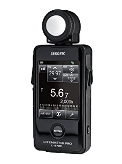 Sekonic L-478D LiteMaster Pro Belichtungsmesser mit Touch-Screen ohne Funksender (B00B7ZE9YU) | Amazon price tracker / tracking, Amazon price history charts, Amazon price watches, Amazon price drop alerts