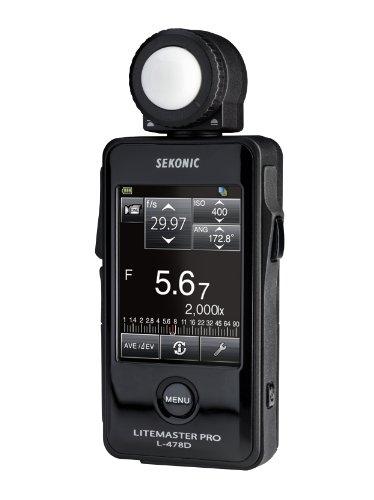 Sekonic LiteMaster Pro - Exposímetro con Pantalla táctil (sin transmisor de Radio)