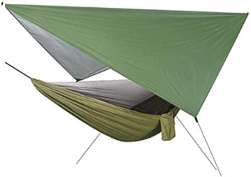 YSCYLY Hamac Parachute,Écran Sky Speed moustiquaire Ouvert,Chaise-hamac Lounger Outdoor