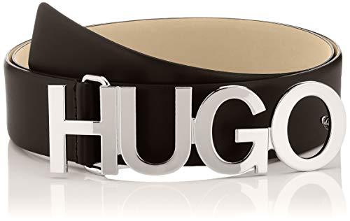 HUGO Damen Gürtel Zula Belt 4 Cm-Zl, Black1, 110