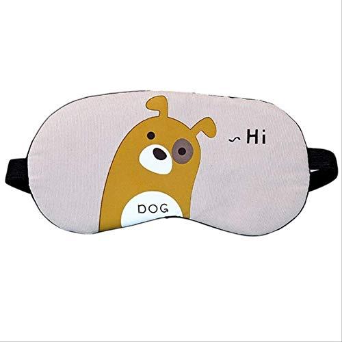 Augenmaske für schlafen Reisen, Reisen niedlich schlafen Eye-Maske, Baumwolle Candy Cartoon Tier Bär Kaninchen Panda gedruckt, für Jungen und Mädchen Geburtstag Urlaub Geschenke c