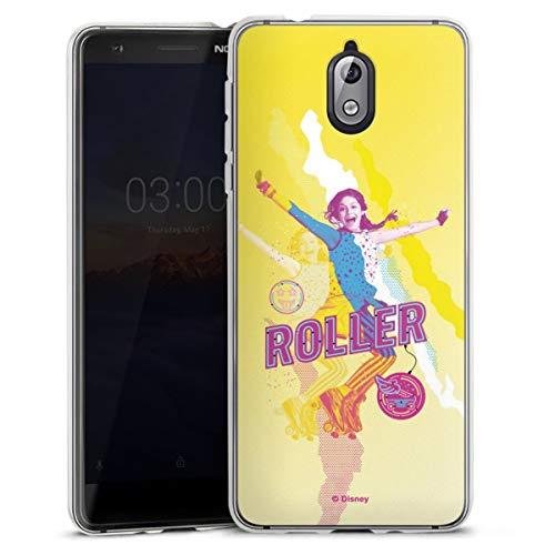 DeinDesign Silikon Hülle kompatibel mit Nokia 3 1 Case transparent Handyhülle Soy Luna Disney Offizielles Lizenzprodukt