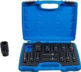 BGS 5209   Juego de llaves de vaso de impacto Gear Lock   entrada 12,5 mm (1/2')   10 - 32 mm   14 piezas