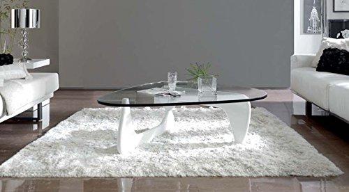 DUGAR HOME Mesas de Centro : Modelo Prisma Blanca de 125x40x90