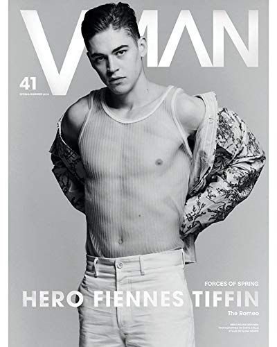 VMan Magazine Issue #41 (Spring/Summer, 2019) Hero Fiennes Tiffin Cover
