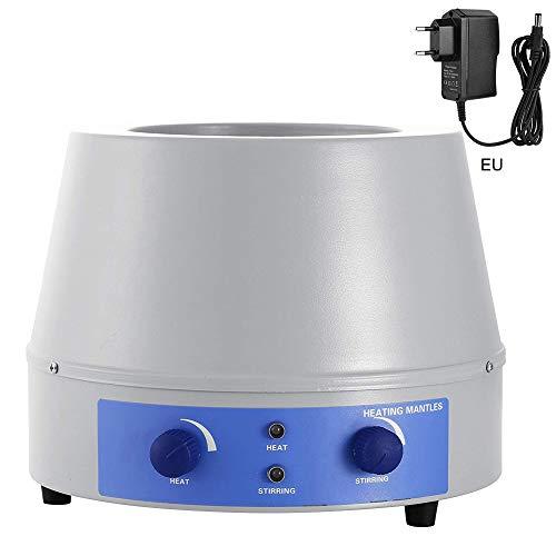 nlgzklsh Heizmantel mit Magnetrührer 250ml Thermostat Flüssigkeit beheizt elektronische Temperaturregelung für Labor