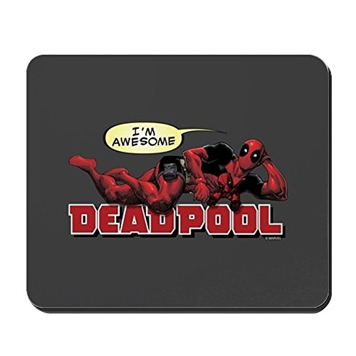 CafePress Deadpool Awesome Non-Slip Rubber Mousepad, Gaming Mouse Pad