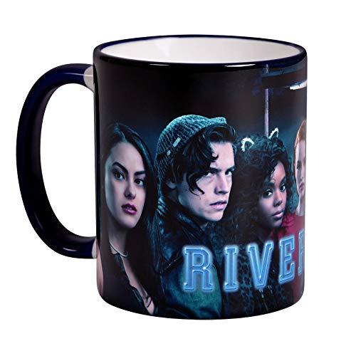 Elbenwald Riverdale Tasse Season 2 Cover Charakters Rundumdruck 320 ml Keramik