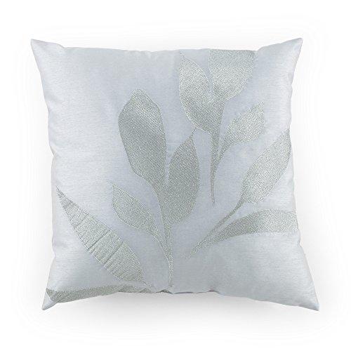 Kathy Davis Reflection Silver Leaf Decorative Pillow, 20
