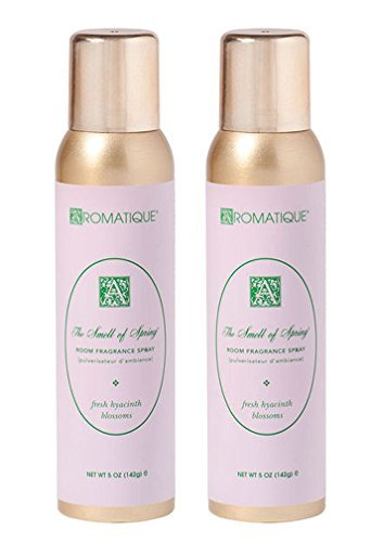 Aromatique Package of Two (2) 5 Oz Room Fragrance Sprays in The Smell of Spring