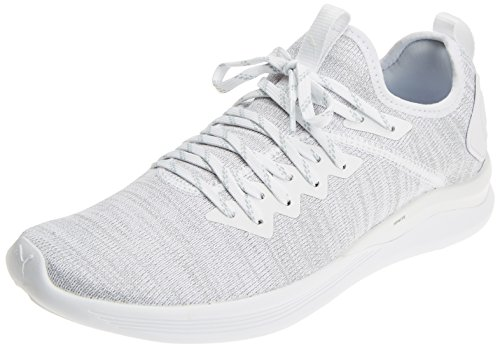 Puma Herren Ignite Flash Evoknit Cross-Trainer, Weiß (Puma White 03), 45 EU