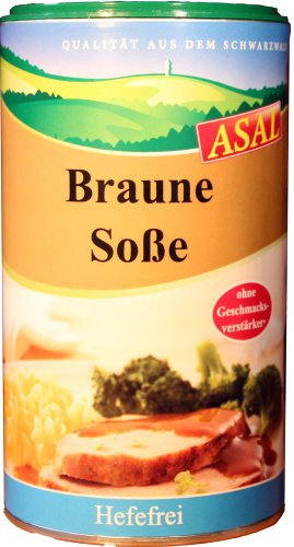 Asal Braune Soße ohne Hefe 500 g
