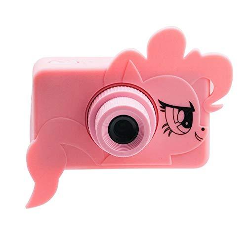Kinder-Digitalkamera 1080P HD Digitalkamera Minikamera-Spielzeug-Kind Multifunktionale Wasserdicht Und Staubdichte Großer Kapazitäts-Spielzeug-Kamera-Videogerät IEAST (Color : Pink 32G Card)