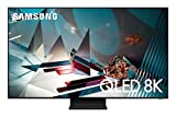 SAMSUNG 75-inch Class QLED Q800T Series - Real 8K Resolution Direct Full Array 24X Quantum HDR 16X Smart TV with Alexa Built-in (QN75Q800TAFXZA, 2020 Model)