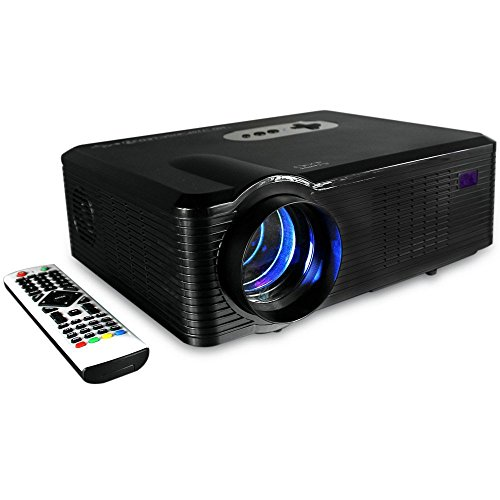 2700 Lumens Color Brightness Projector,Joyhero HD 1280 x 800p LED Home Theater Projector with Analog TV Interface