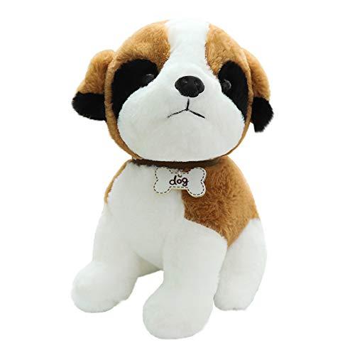 Hunpta @ 22cm Plüschtiere Dekokissen Karikatur Süßes Hund Hündchen Weich Plüsch Spielzeug Kuscheltier Puppe Festival Geburtstag Weihnachten für Junge Mädchen