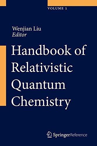 Handbook of Relativistic Quantum Chemistryの詳細を見る