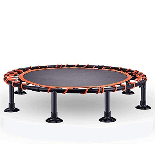 Lamyanran Trampolin Brincolin para Niños y Adultos Cama de Salto de Bungee para niños con reposabrazos de trampolín Toy Toy Trampoline Games Deportes Regalo (Size : 48'-770lb)
