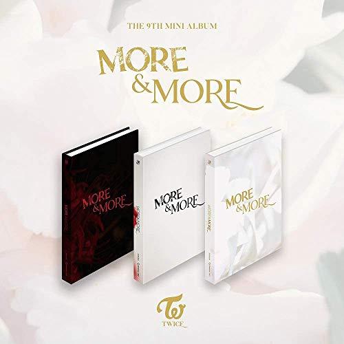 JYP Entertainment Twice – More & More (9th Mini álbum) Album+Extra Photocards Set (B ver)