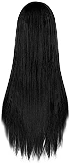 Rbenxia 32'' Women's Cosplay Wig Hair Wig Long Straight Costume Party Full Wigs