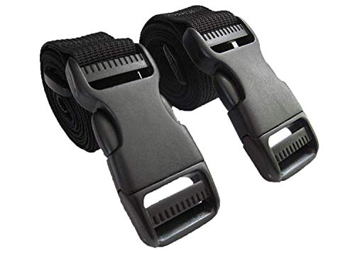 Molle Backpack Accessory Straps - Quick Release Buckle - Made in USA