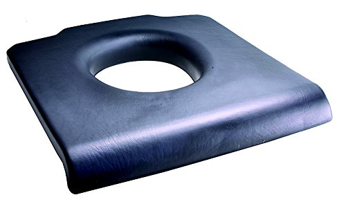 Weichsitz für Toilettenstuhl, Auflage Sitzpolster für druckfreies Sitzen, abwaschbar
